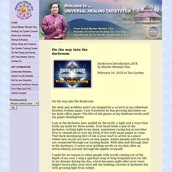 Universal Healing Tao: Darkroom Retreat information