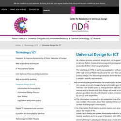 Centre for Excellence in Universal Design