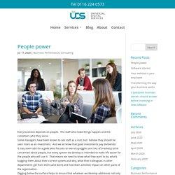 People power - Universal Digital Services Ltd