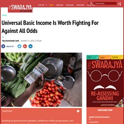 Universal Basic Income Is Worth Fighting For Against All Odds