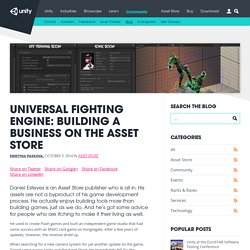 Universal Fighting Engine: Building a business on the Asset Store