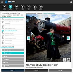 Universal Studios Florida®: Orlando Attractions Review