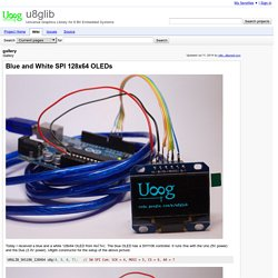 gallery - u8glib - Gallery - Universal Graphics Library for 8 Bit Embedded Systems
