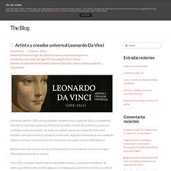 Artista y creador universal Leonardo Da Vinci