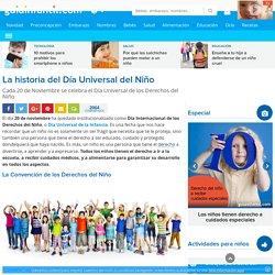Día Universal del Niño: el 20 de Noviembre. Su historia.