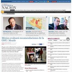 México evaluará recomendaciones de la ONU: Meade