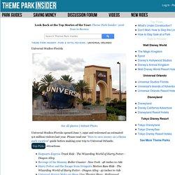 Universal Studios Florida reviews