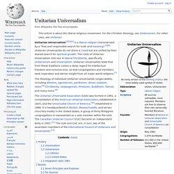 Unitarian Universalism