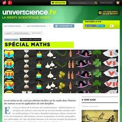 Spécial maths - Histoire des sciences