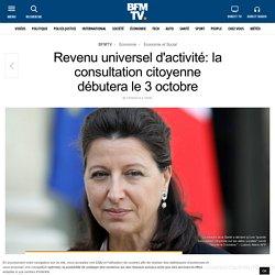 Question 5 : Revenu universel d'activité: la consultation citoyenne débutera le 3 octobre