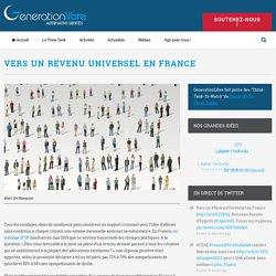 Vers un revenu universel en France – GenerationLibre