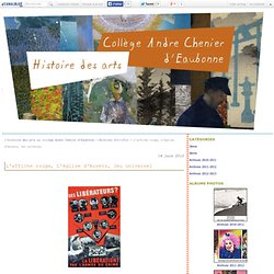 L'affiche rouge, L'église d'Auvers, Jeu universel - l'histoire des arts au collège André Chénier d'Eaubonne