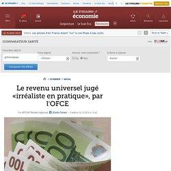 Le revenu universel jugé «irréaliste en pratique», par l'OFCE
