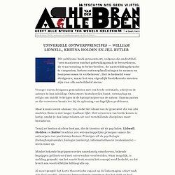 Universele ontwerpprincipes – William Lidwell, Kritina Holden en Jill Butler