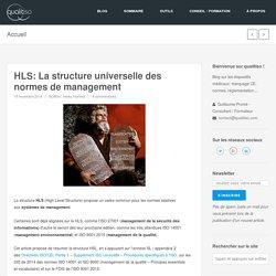 HLS: La structure universelle des normes de management