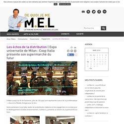 Expo universelle de Milan : Coop Italia présente son supermarché du futur