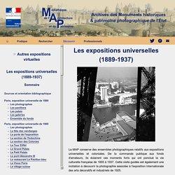 Expositions virtuelles - Expositions universelles - Médiathèque de l'architecture et du patrimoine