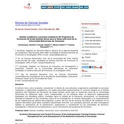 Gestión organizacional IES Venezuela
