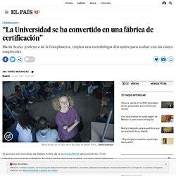 """Universidad alternativa: """"La Universidad se ha convertido en una fábrica de certificación"""""""