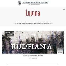 LUVINA – – Revista Literaria de la Universidad de Guadalajara –