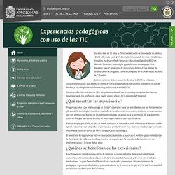 Universidad Nacional de Colombia: Dirección Nacional de Innovación Académica