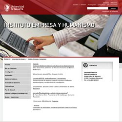 Universidad de Navarra-Instituto Empresa y Humanismo