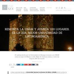 Remonta la UNAM y avanza 100 lugares, es la 2da. mejor universidad de Latinoamérica - Más de México