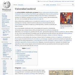 Universidad medieval