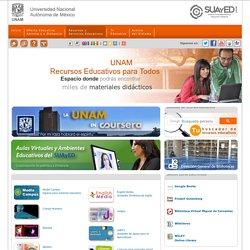 SUAyED - Portal de la Universidad Nacional Autónoma de México