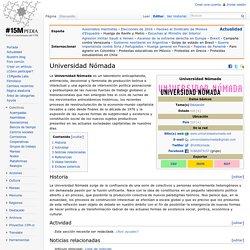 Universidad Nómada - 15Mpedia