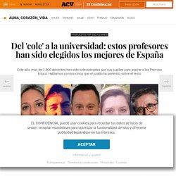 Educación: Del cole a la universidad: estos profesores han sido elegidos los mejores de España