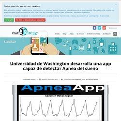 Universidad de Washington desarrolla una app capaz de detectar Apnea del sueño