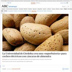 La Universidad de Córdoba crea una «superbatería» para coches eléctricos con cáscaras de almendra