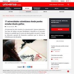 17 universidades colombianas donde puedes estudiar diseño gráfico