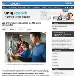 Las universidades implantan las TIC a dos velocidades