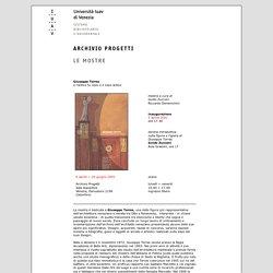 Università Iuav di Venezia - archivio progetti