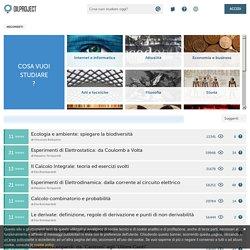 Migliaia di video, testi ed esercizi per Superiori e Università - I corsi di Oilproject