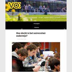Hoe slecht is het universitair onderwijs? - Vox magazine