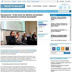 """Carcassonne : le bel avenir du diplôme universitaire """"photo documentaire et écriture transmédia"""""""