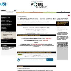 BU Bretagne-Sud (Lorient & Vannes)