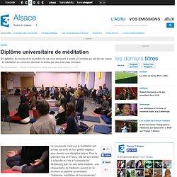 Diplôme universitaire de méditation