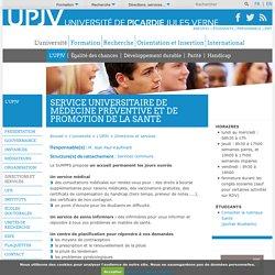 Service universitaire de médecine préventive et de promotion de la santé