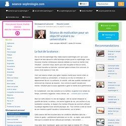 Motivation scolaire ou universitaire: l'aide de la sophrologie