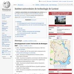 Institut universitaire de technologie de Lorient