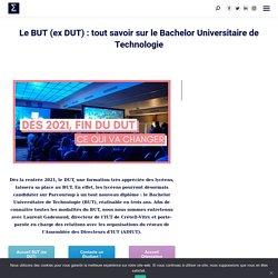 Le BUT (ex DUT) : tout savoir sur le Bachelor Universitaire de Technologie