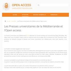 Les Presses universitaires de la Méditerranée et l'Open access - Open Access LR