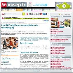 Les DUT (diplômes universitaires de technologie)