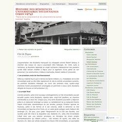 Histoire des résidences universitaires toulousaines (1920-1974)