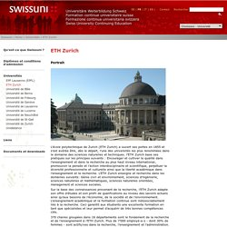 Swissuni - Universitäre Weiterbildung - Continuing Education - Formation continue