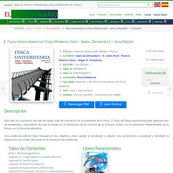 [PDF] Física Universitaria con Física Moderna Vol.2 - Sears, Zemansky's - 11va Edición
